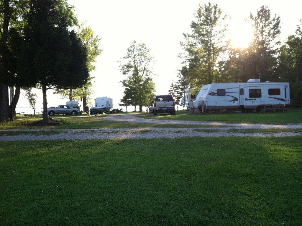 Northside Lots at Big Lake Campground