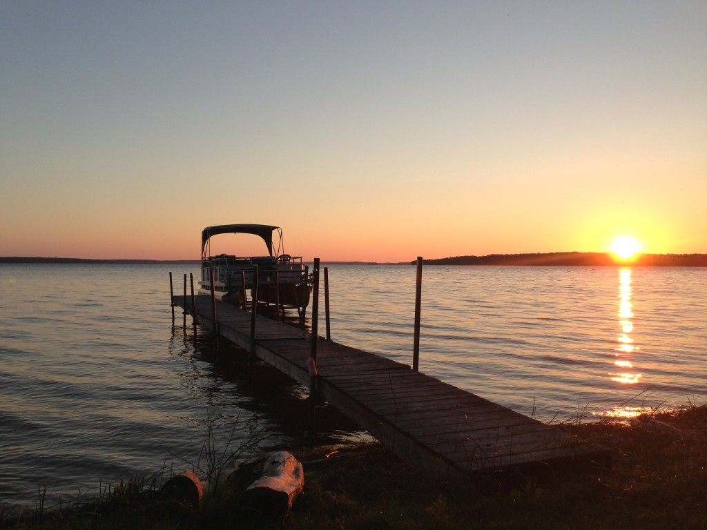 Big Lake Campground September Sunset